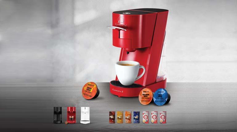 เครื่องทำกาแฟ CAPRISTTA Z : EXPERIENCE PROFESSIONAL AT HOME