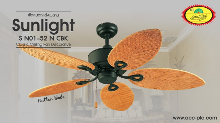 Decorative LIGHTING CEILING FAN Classic Style