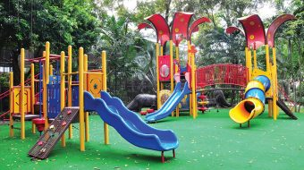 สนามเด็กเล่น… แอคทีฟฟังก์ชั่น สร้างสีสันให้กับโรงแรม