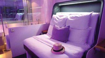 'สมาร์ทเบด' นวัตกรรมเพื่อการเพิ่มประสบการณ์การนอนหลับแก่นักเดินทาง