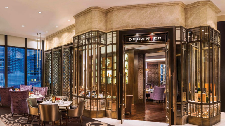 Decanter Exclusive Wine and Whisky Lounge At The St. Regis Bangkok