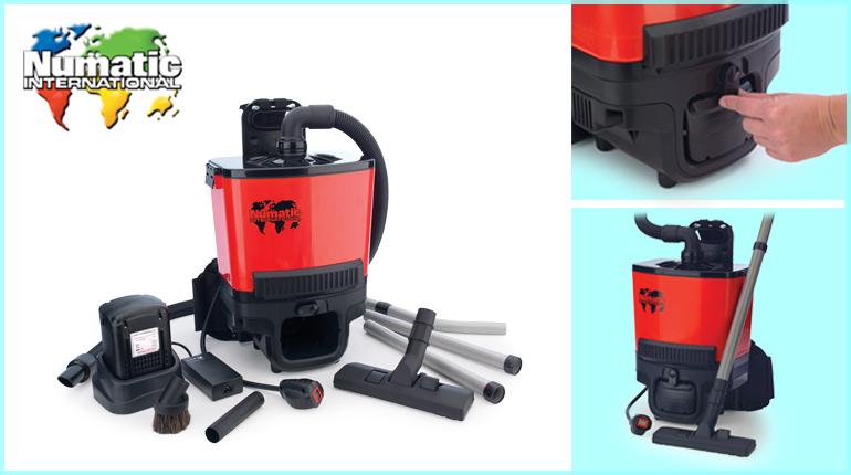 เครื่องดูดฝุ่น Numatic RSB140 Vacuum cleaner