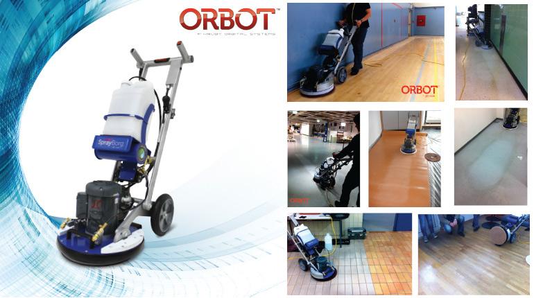 ORBOT เครื่องทำความสะอาดพื้นผิว
