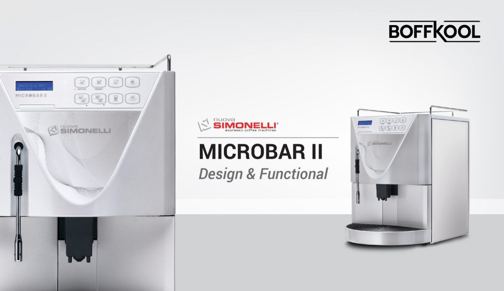 Microbar ll (Super automatic coffee machine)