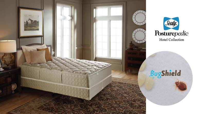 Jaspal & Sons, BugSheild, Sealy Posturepedic, Bed Bug Protection Mattress