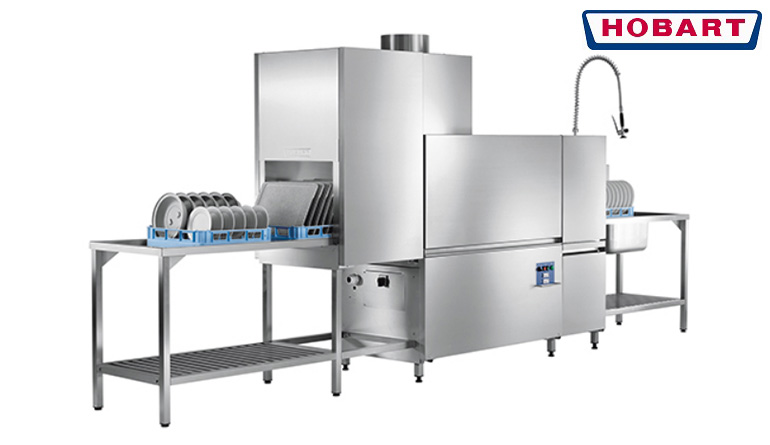 CSA สุดยอดเครื่องล้างจาน ชนิดสายพาน จาก HOBART ประเทศเยอรมันนี