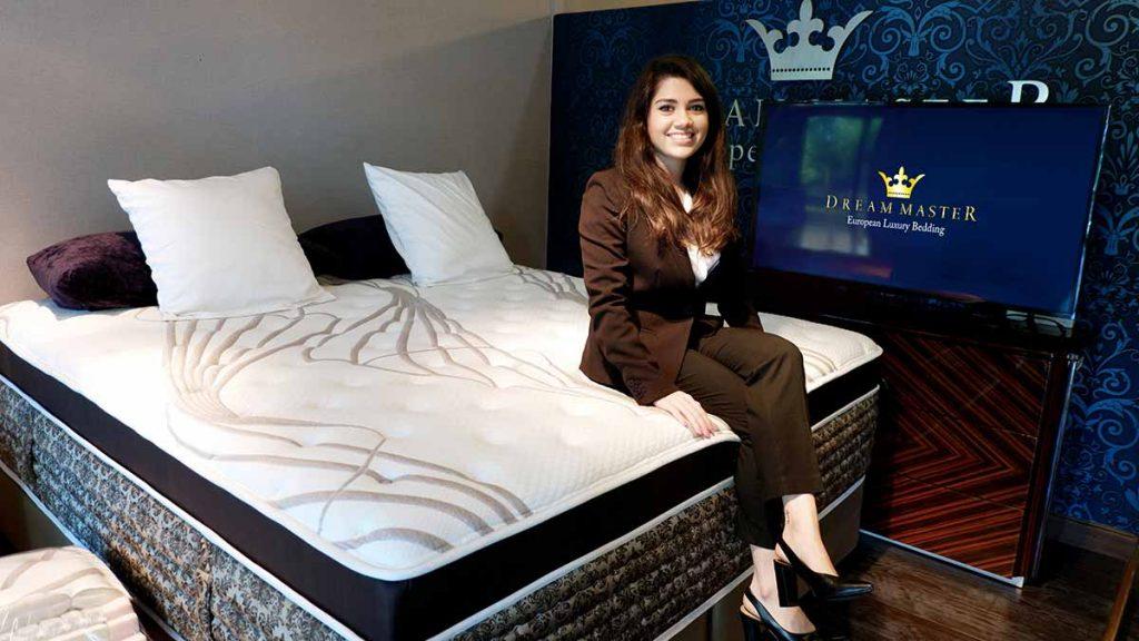 โดดเด่นเหนือกาลเวลาด้วยเทคโนโลยีเพื่อการนอน ที่สมบูรณ์แบบจาก DreamMaster