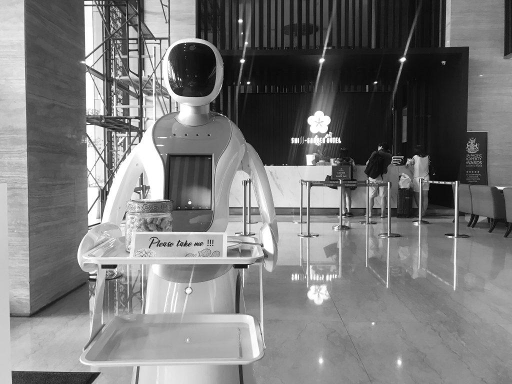 บทบาทของหุ่นยนต์ในธุรกิจที่พักและการท่องเที่ยว