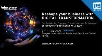 เลื่อนจัดงาน InfoComm Southeast Asia 2020