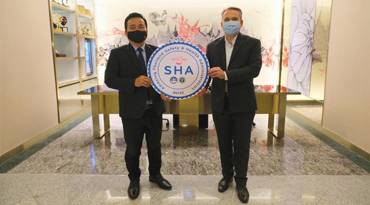 โรงแรมปทุมวัน ปริ๊นเซส รับมอบตราสัญลักษณ์ SHA