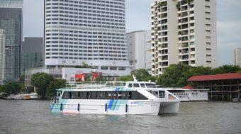 """ประกาศความสำเร็จโปรเจกต์ยักษ์ """"เรือท่องเที่ยวไฟฟ้าทางทะเลลำแรกของไทย"""""""