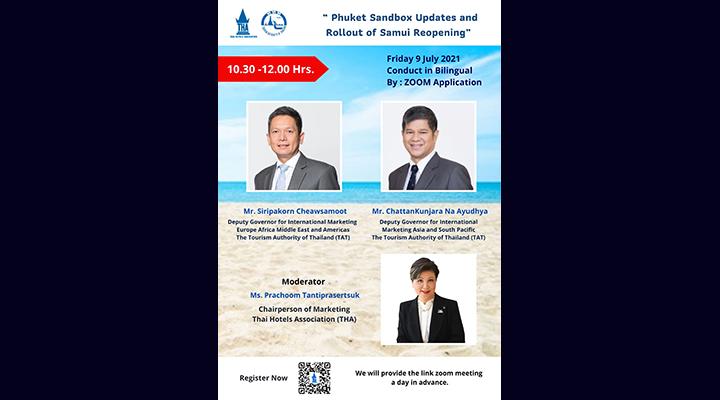 Webinar: 'Phuket Sandbox Updates and Rollout of Samui Reopening'