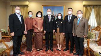 THA เข้าร่วมพิธีลงนามบันทึกข้อตกลงความร่วมมือ โครงการฮักไทย (HUG THAIS)